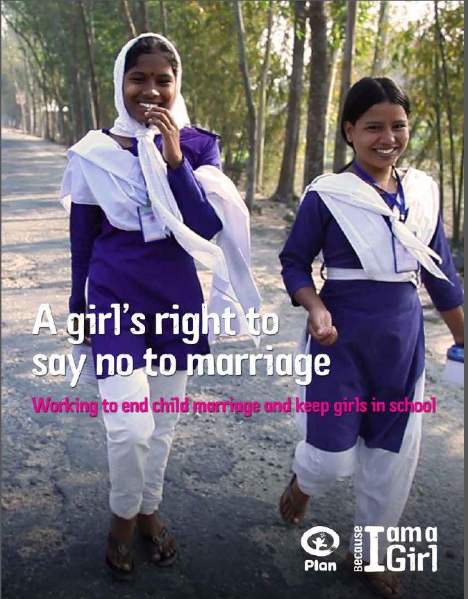 A girl's right to say no to marriage advocacy report