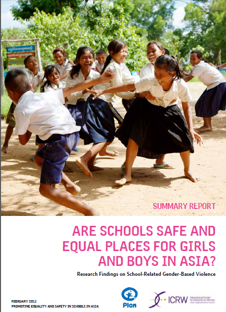 Cover for Are Schools Safe and Equal Places for Girls and Boys in Asia?