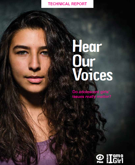 Cover for Hear our Voices