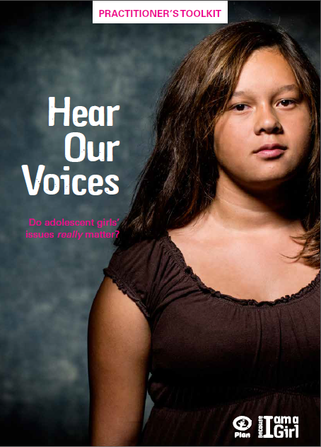 Cover for Hear our Voices Toolkit