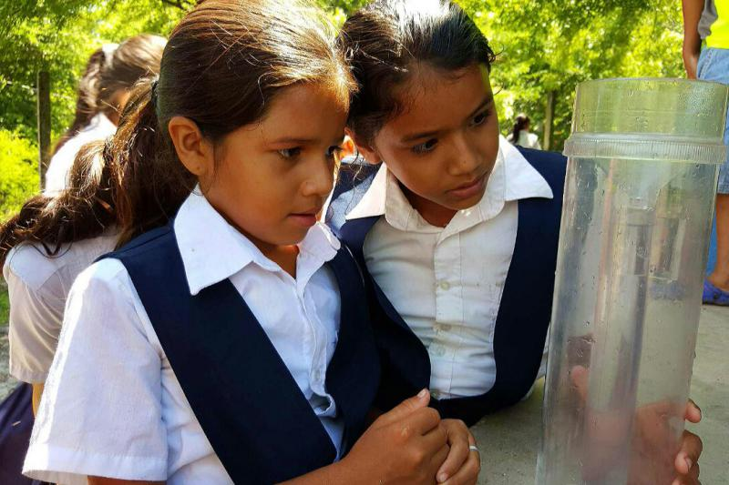 Girls training Drought