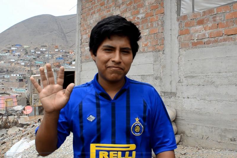 Sponsored child from Peru.