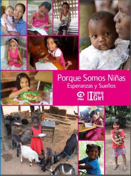Portada del Informe Esperanzas y sueños de Plan International