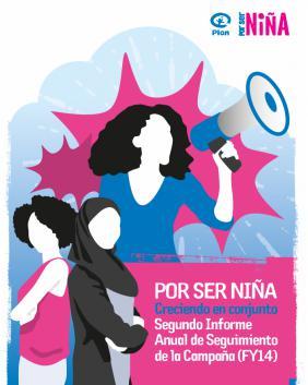 Imagen Segundo Informe de seguimiento anual de la campaña Por Ser Niña de Plan International